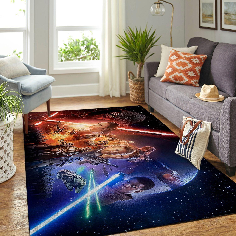 Amazon Star War Living Room Area No6635 Rug