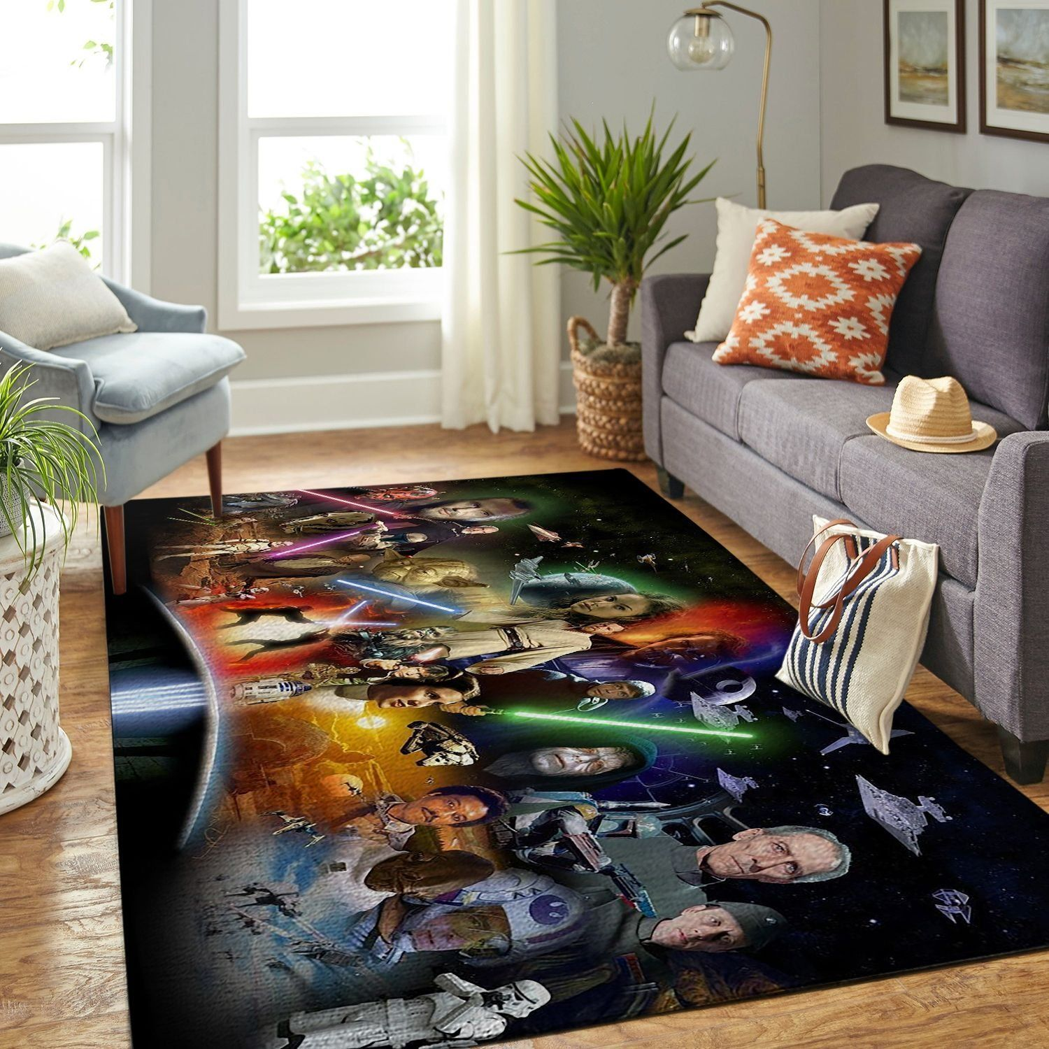 Amazon Star War Living Room Area No6641 Rug