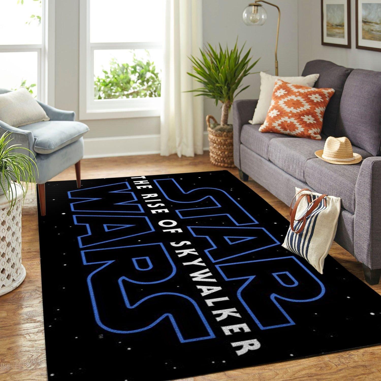 Amazon Star War Symbol Living Room Area No6662 Rug