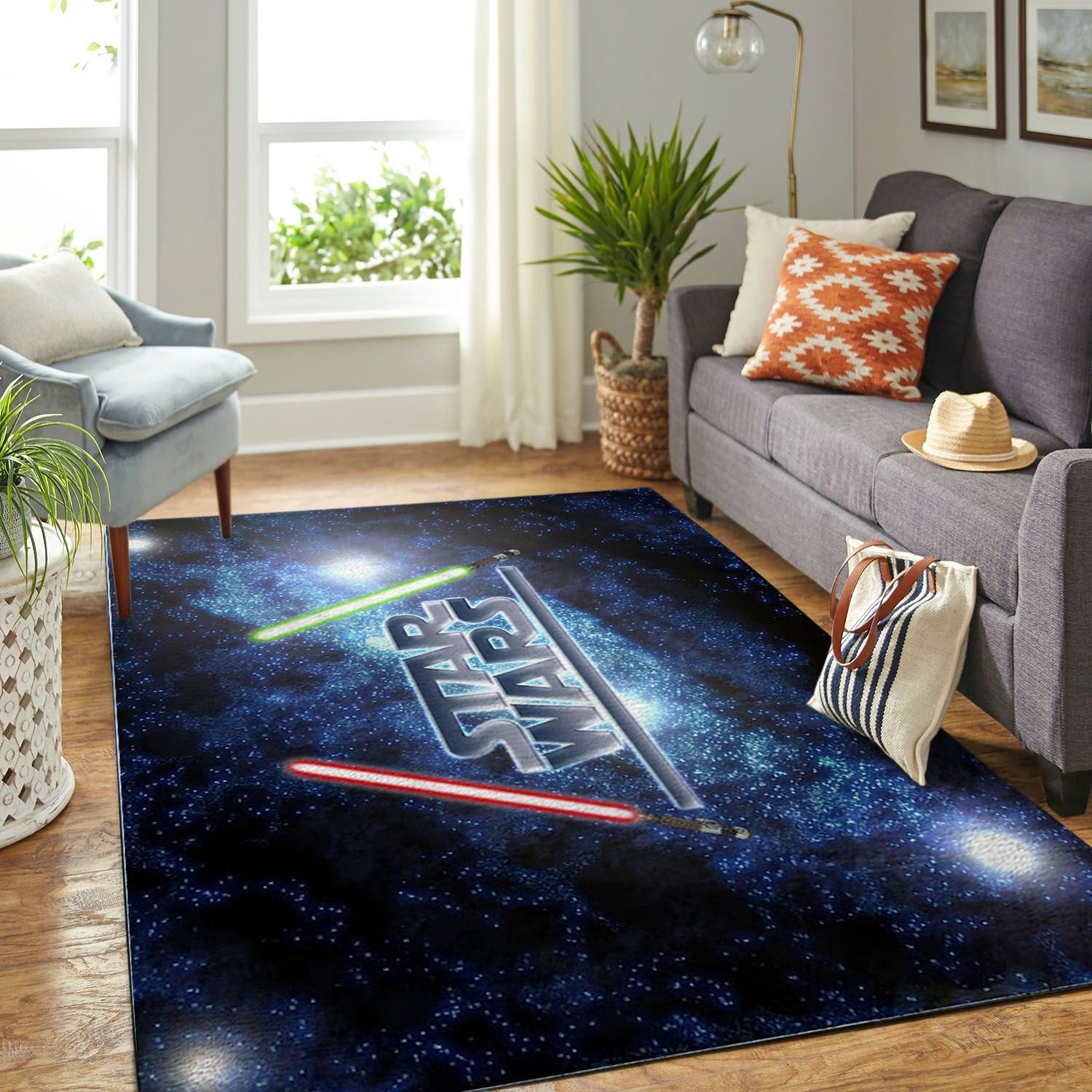 Amazon Star War Symbol Living Room Area No6666 Rug