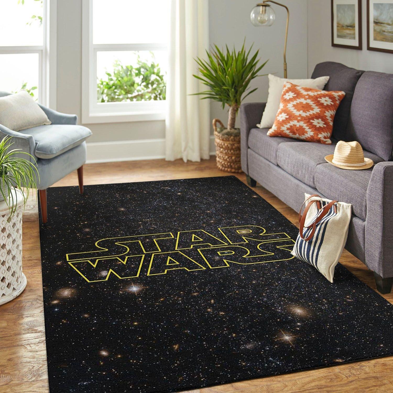 Amazon Star War Symbol Living Room Area No6667 Rug