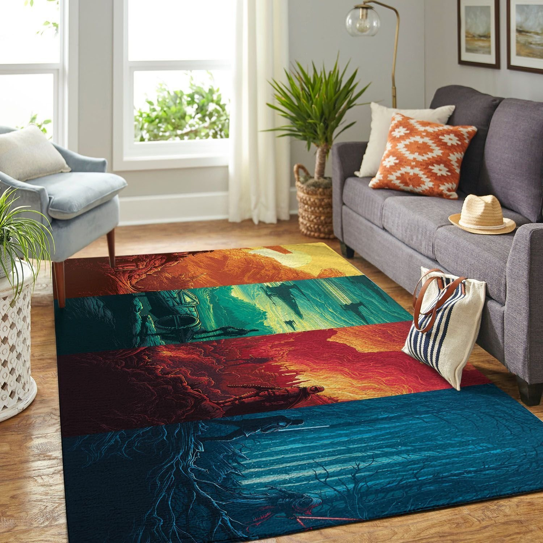 Amazon Starwars Living Room Area No6650 Rug