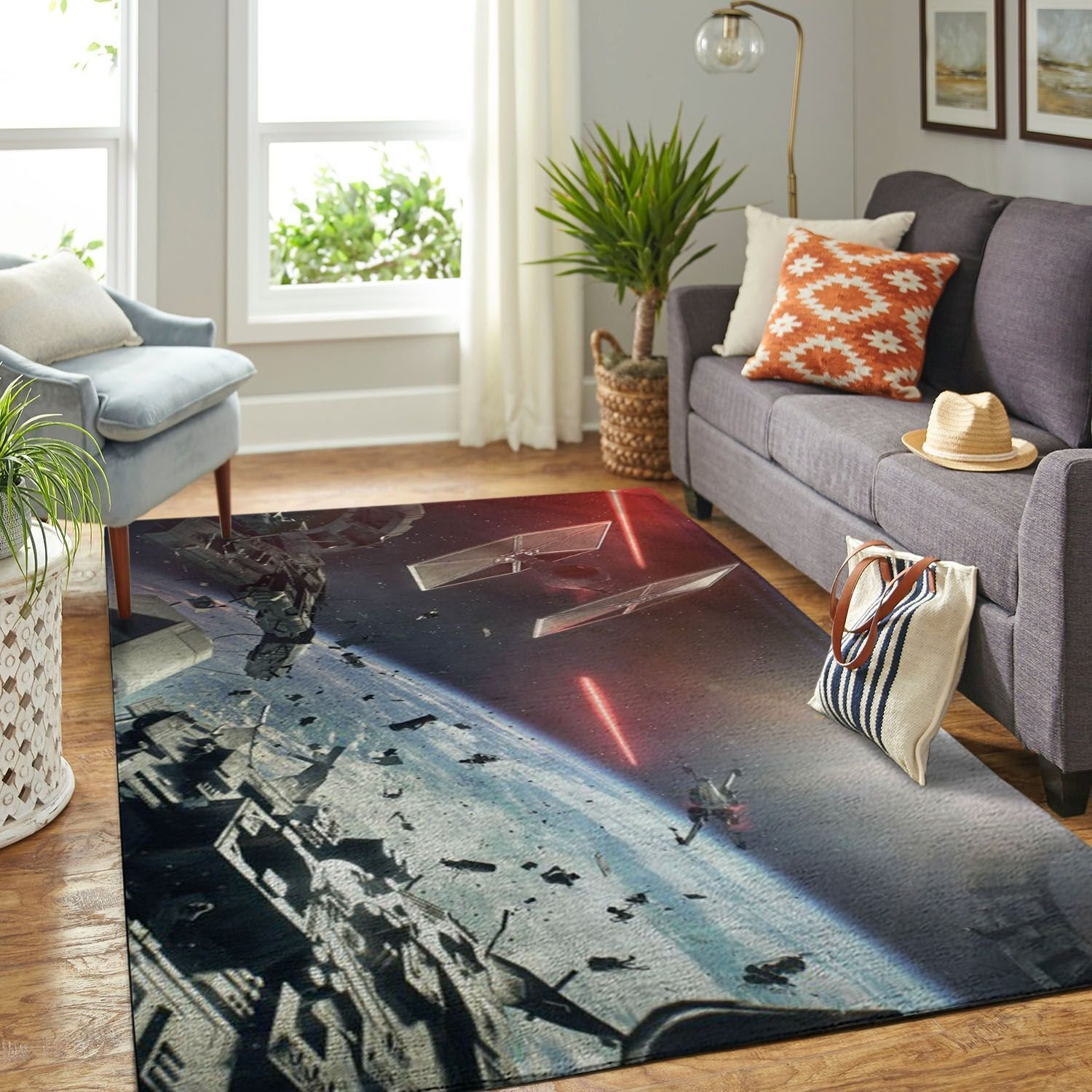 Amazon Starwars Living Room Area No6654 Rug