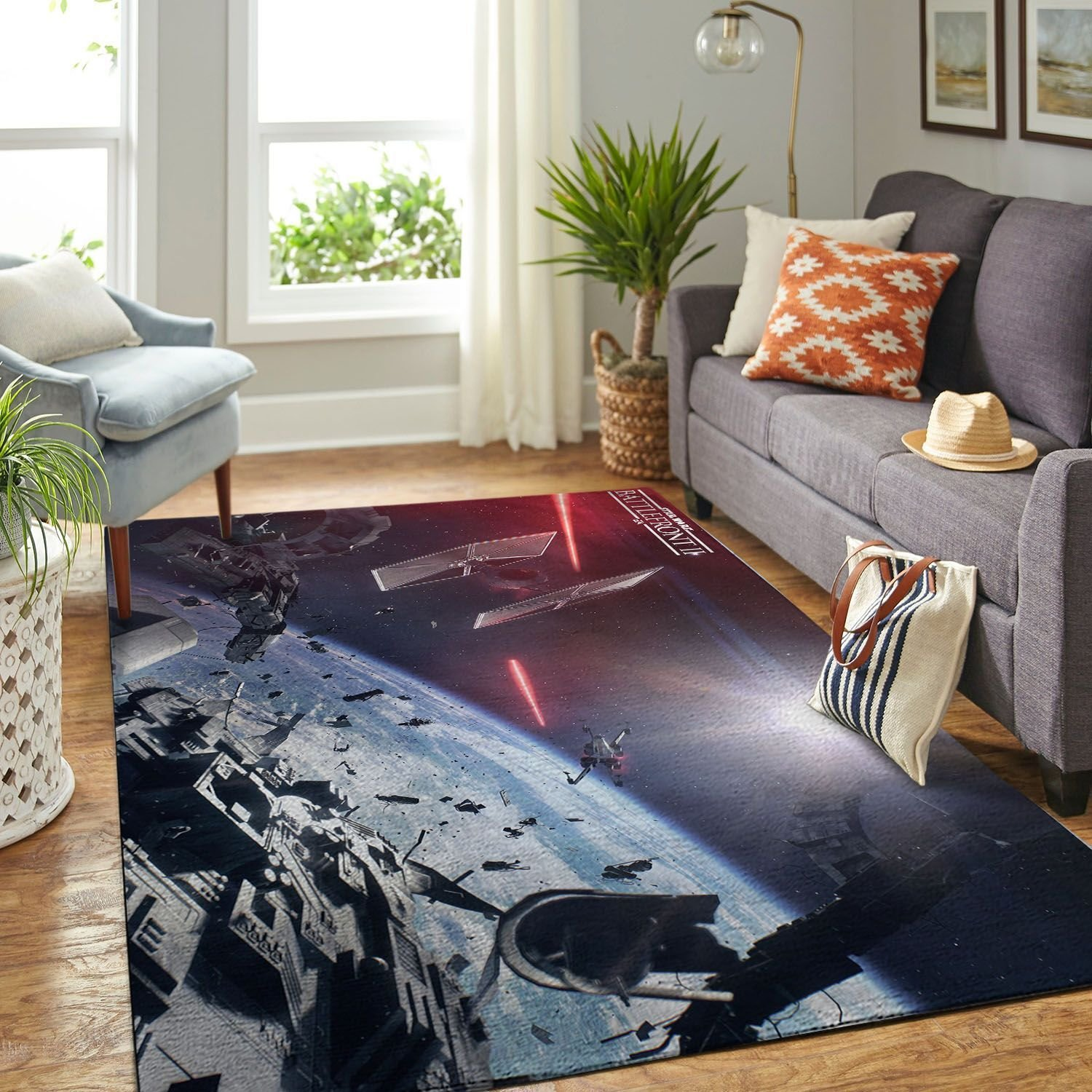 Amazon Starwars Living Room Area No6655 Rug