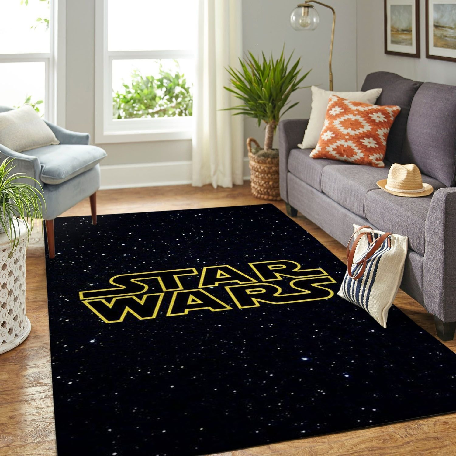 Amazon Starwars Living Room Area No6658 Rug