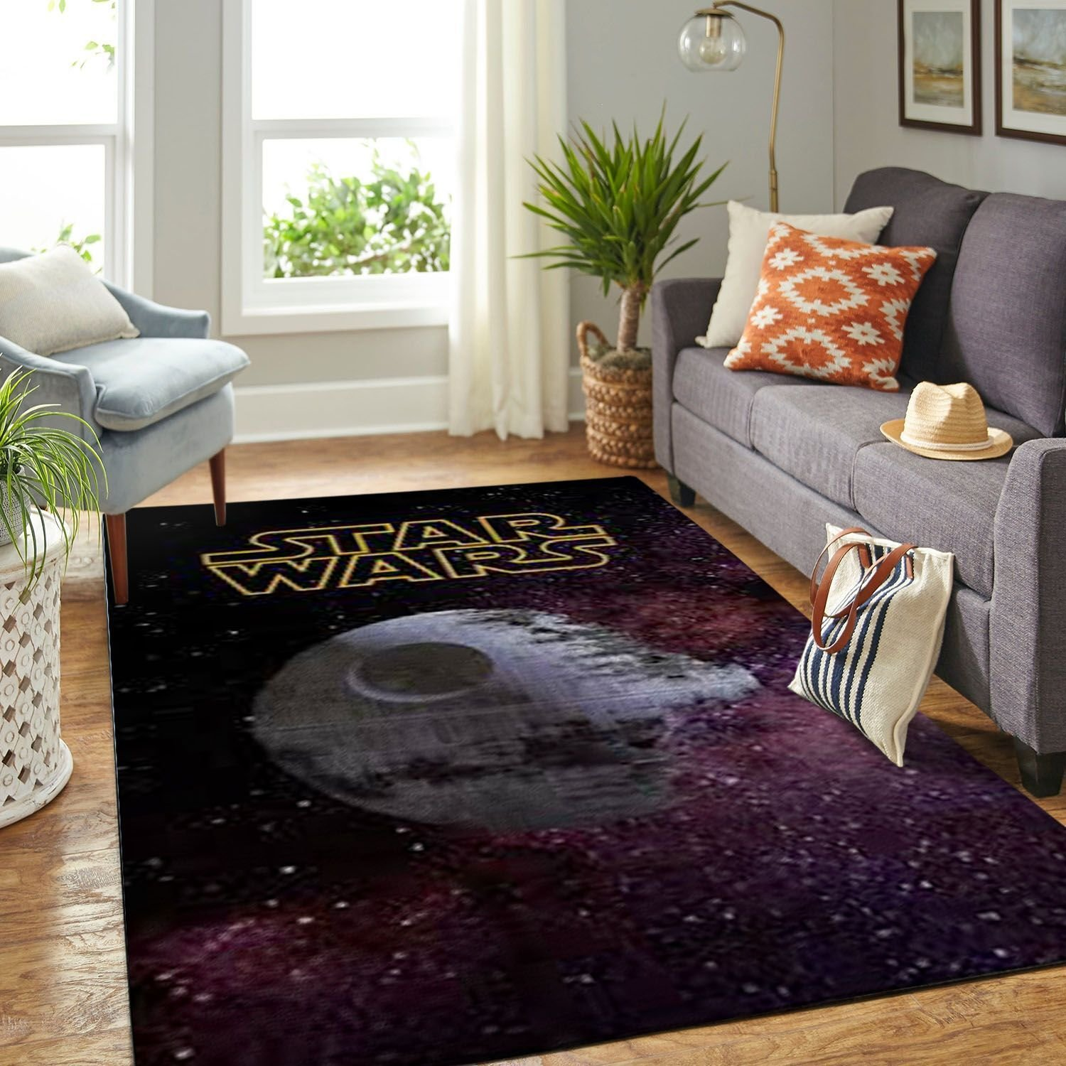 Amazon Starwars Living Room Area No6659 Rug
