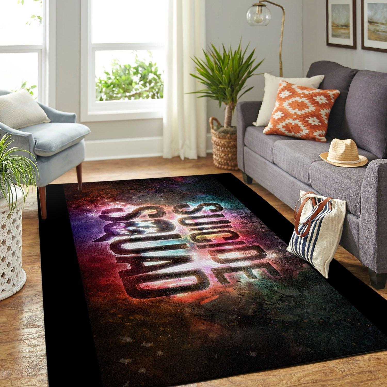 Amazon Suicide Squad Living Room Area No6672 Rug