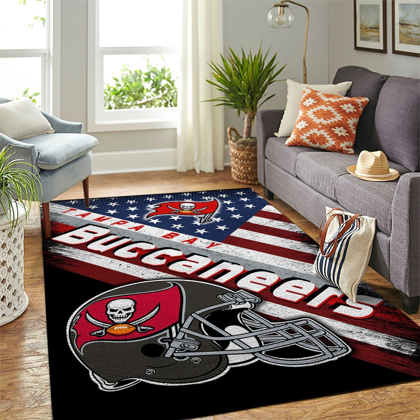 Amazon Tampa Bay Buccaneers Living Room Area No5050 Rug