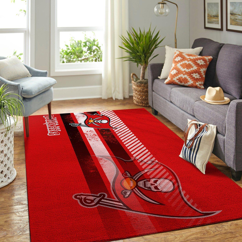 Amazon Tampa Bay Buccaneers Living Room Area No5059 Rug