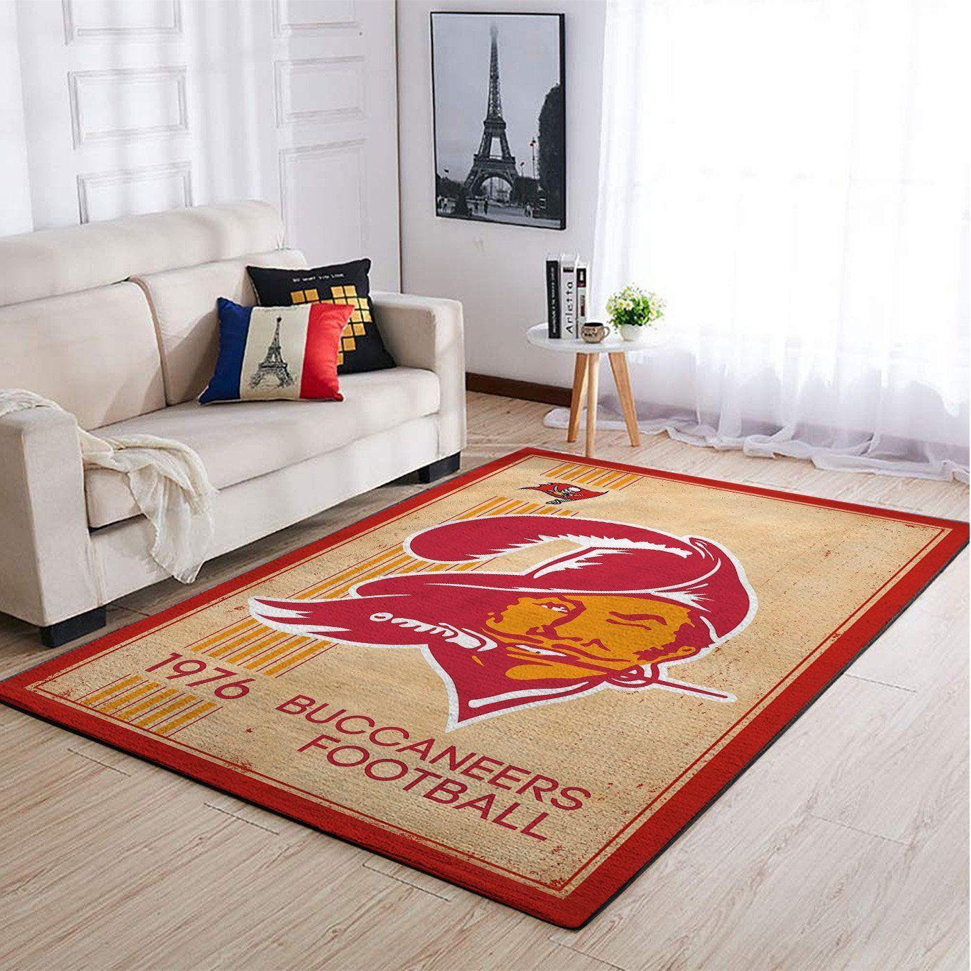 Amazon Tampa Bay Buccaneers Living Room Area No5060 Rug