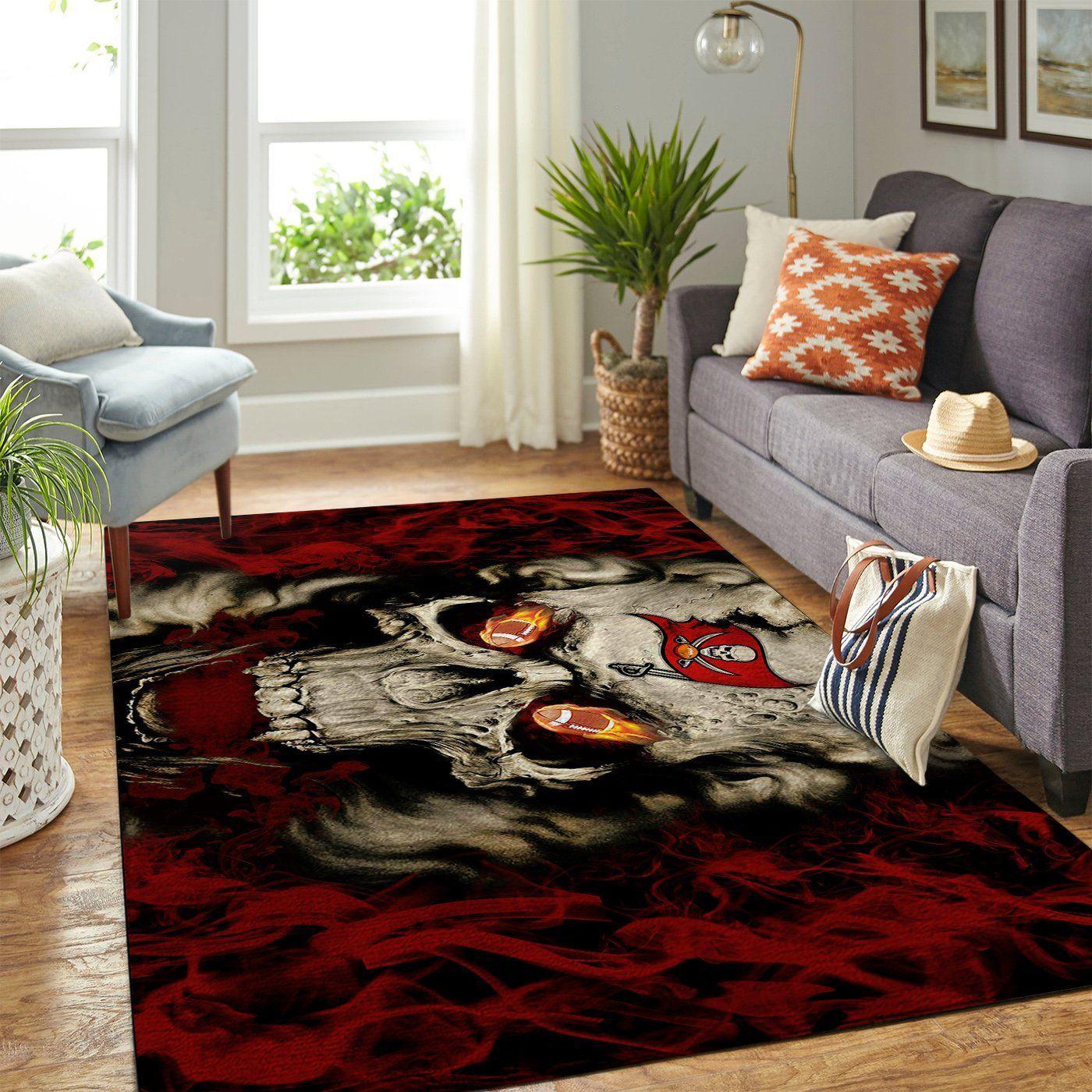 Amazon Tampa Bay Buccaneers Living Room Area No5062 Rug