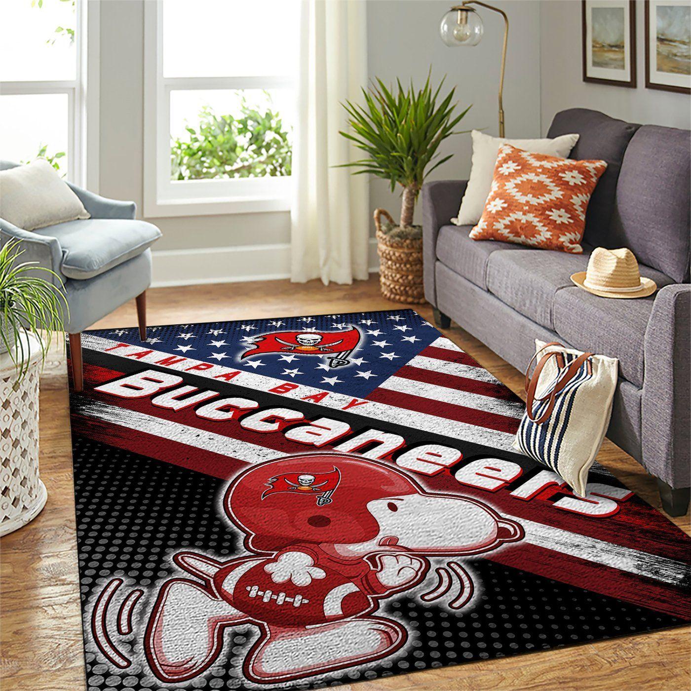 Amazon Tampa Bay Buccaneers Living Room Area No5063 Rug