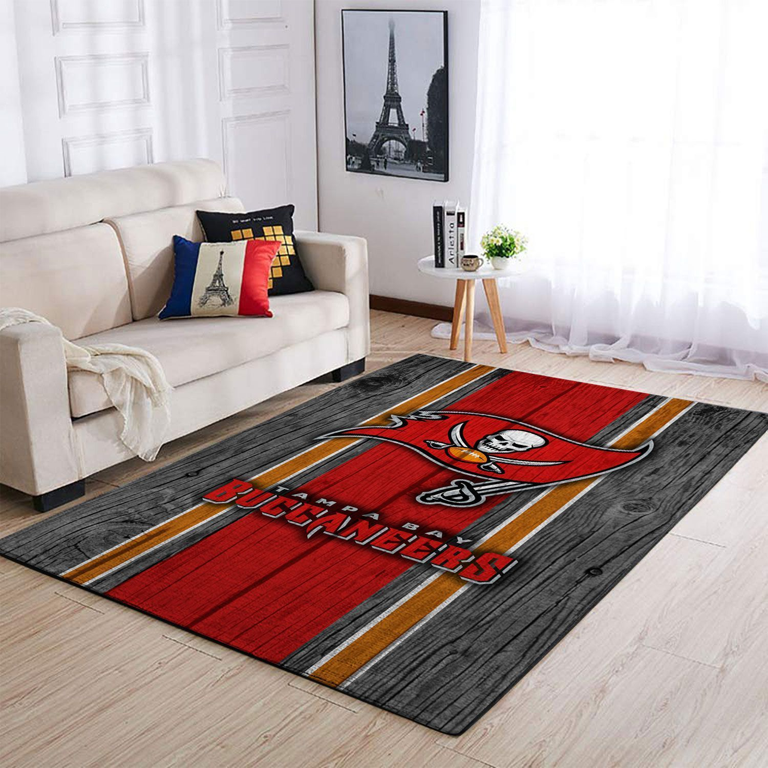 Amazon Tampa Bay Buccaneers Living Room Area No5064 Rug