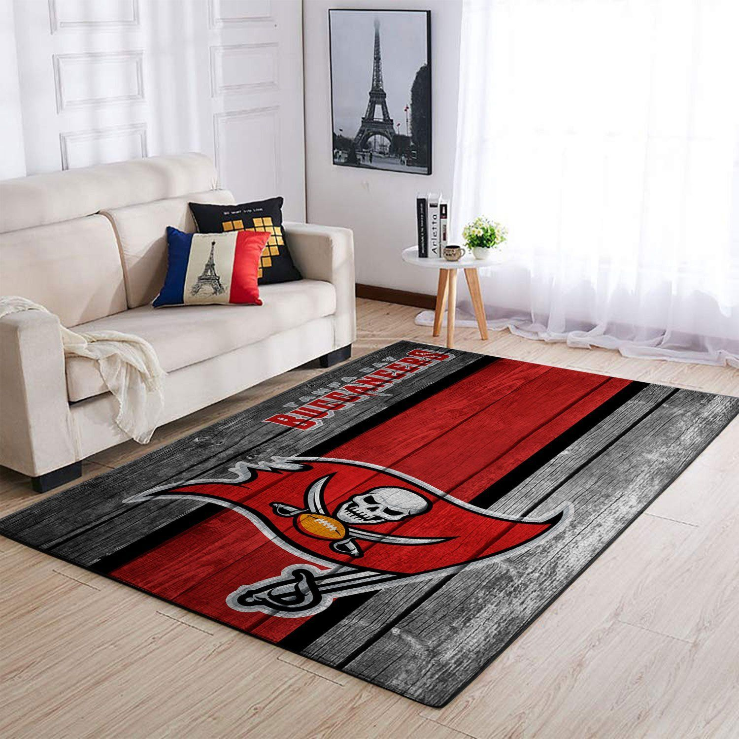 Amazon Tampa Bay Buccaneers Living Room Area No5065 Rug