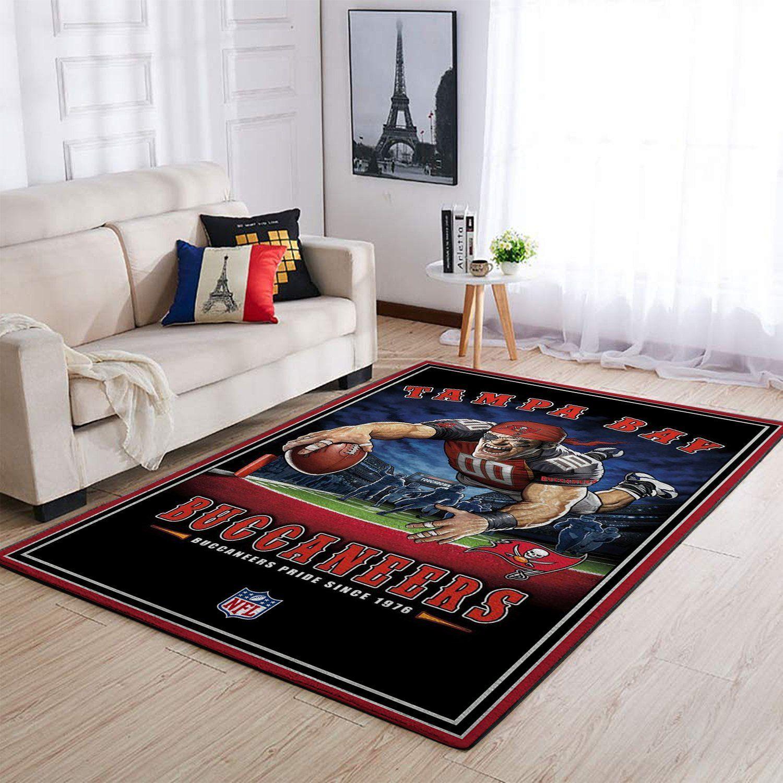 Amazon Tampa Bay Buccaneers Living Room Area No5066 Rug