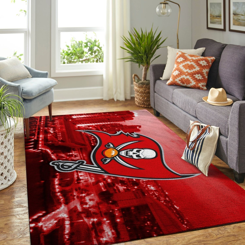 Amazon Tampa Bay Buccaneers Living Room Area No5079 Rug