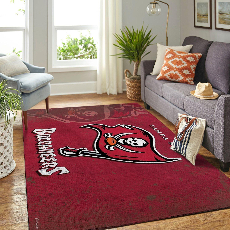 Amazon Tampa Bay Buccaneers Living Room Area No5080 Rug