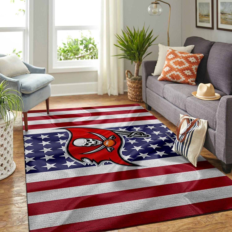 Amazon Tampa Bay Buccaneers Living Room Area No5082 Rug