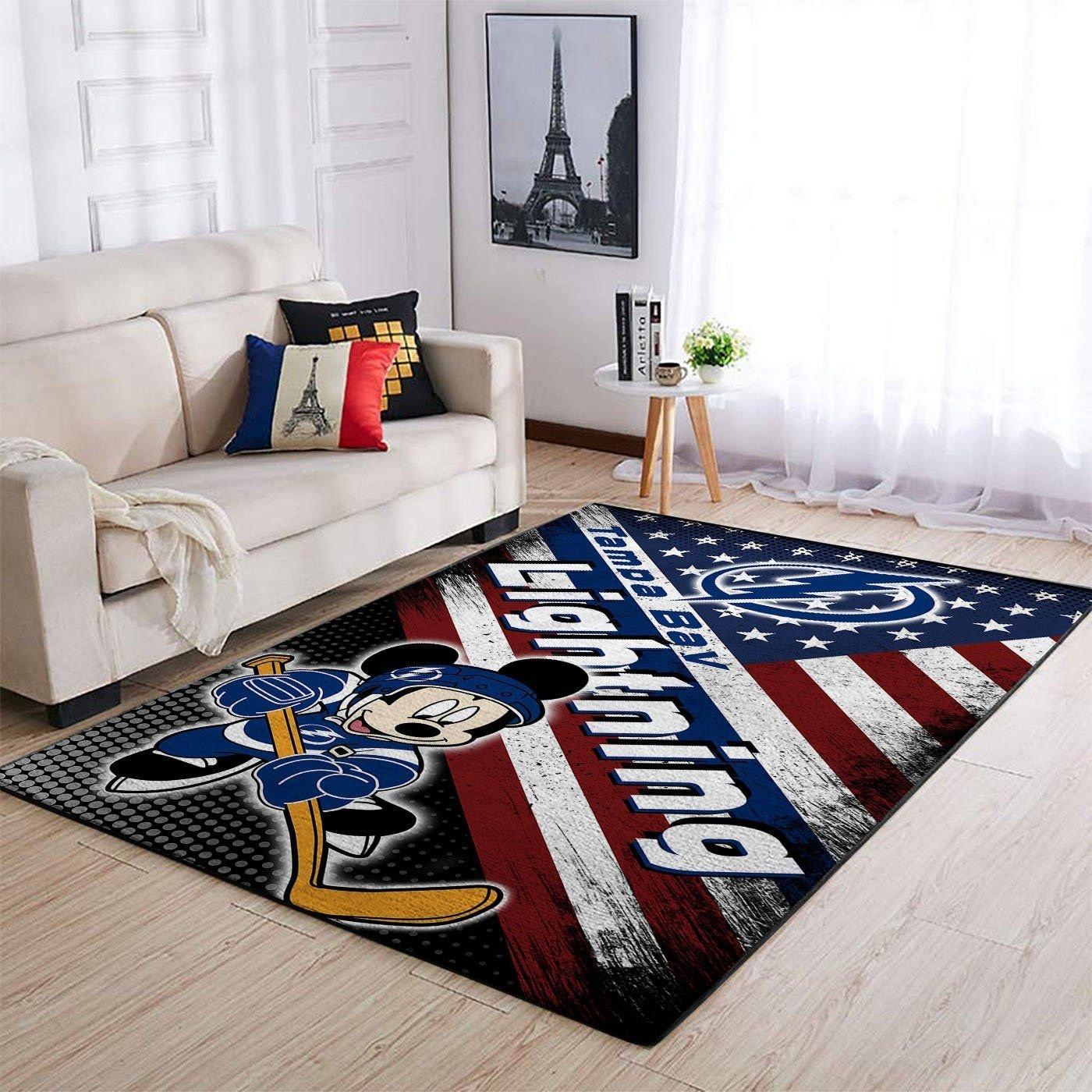 Amazon Tampa Bay Lightning Living Room Area No5085 Rug