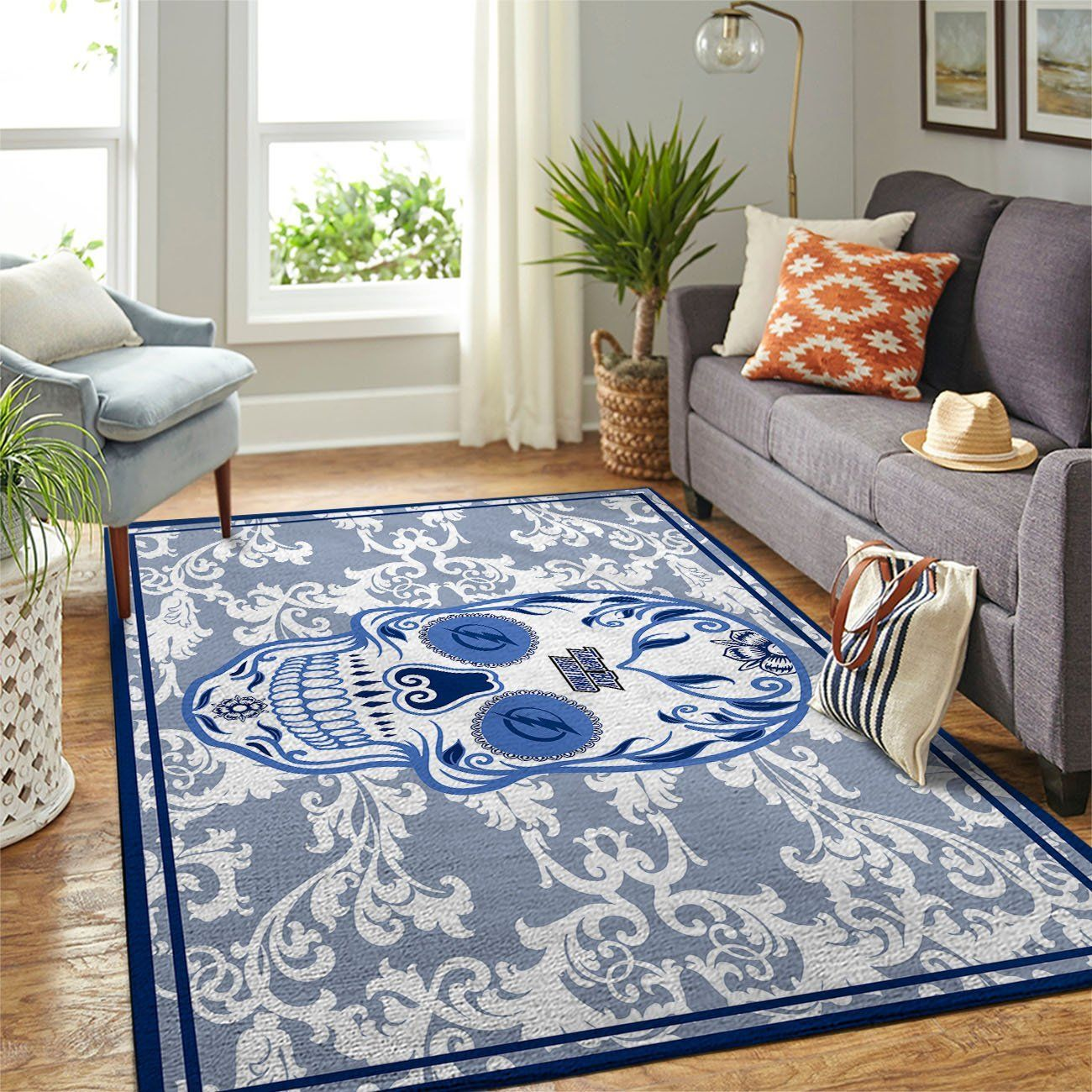 Amazon Tampa Bay Lightning Living Room Area No5087 Rug