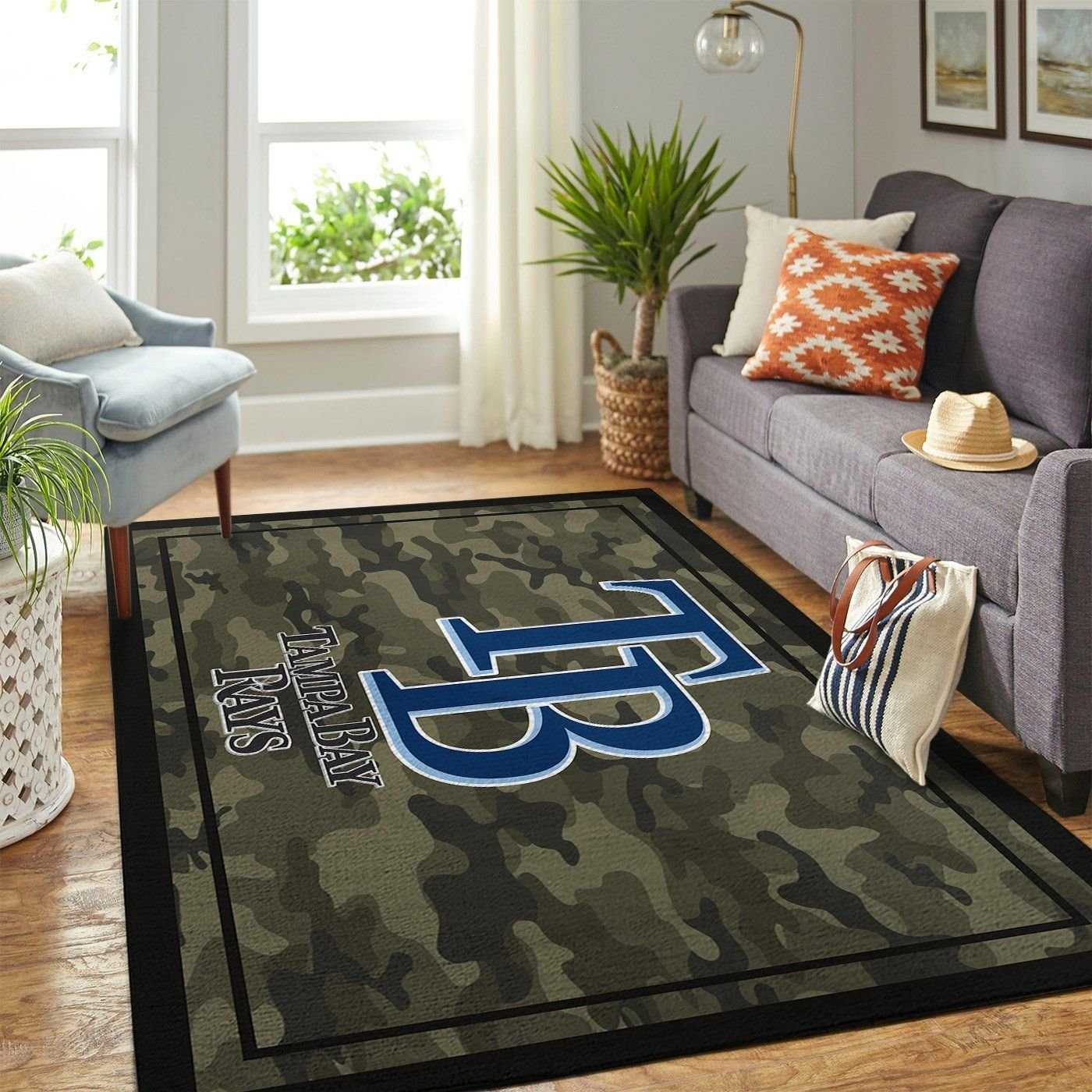 Amazon Tampa Bay Rays Living Room Area No5090 Rug