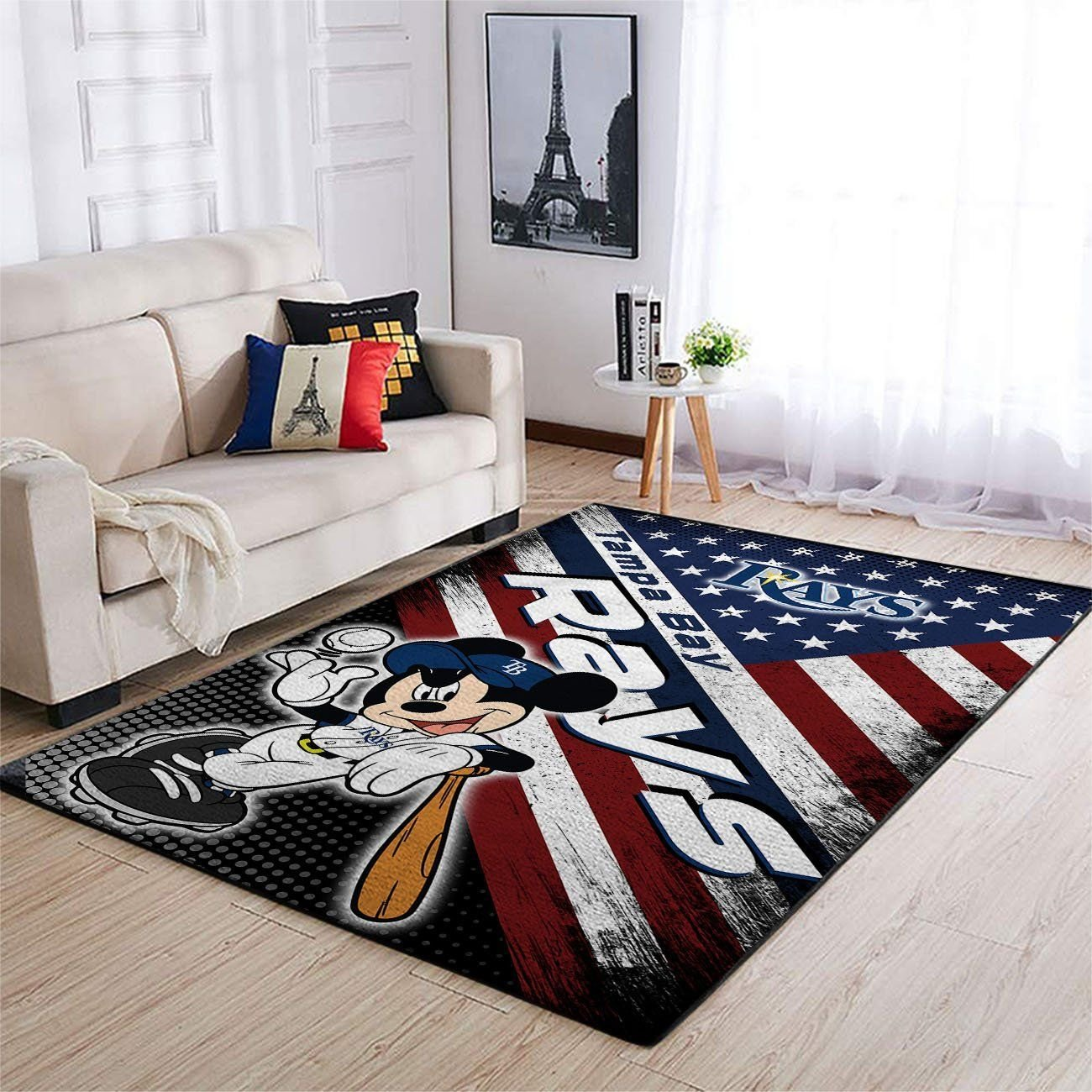 Amazon Tampa Bay Rays Living Room Area No5092 Rug