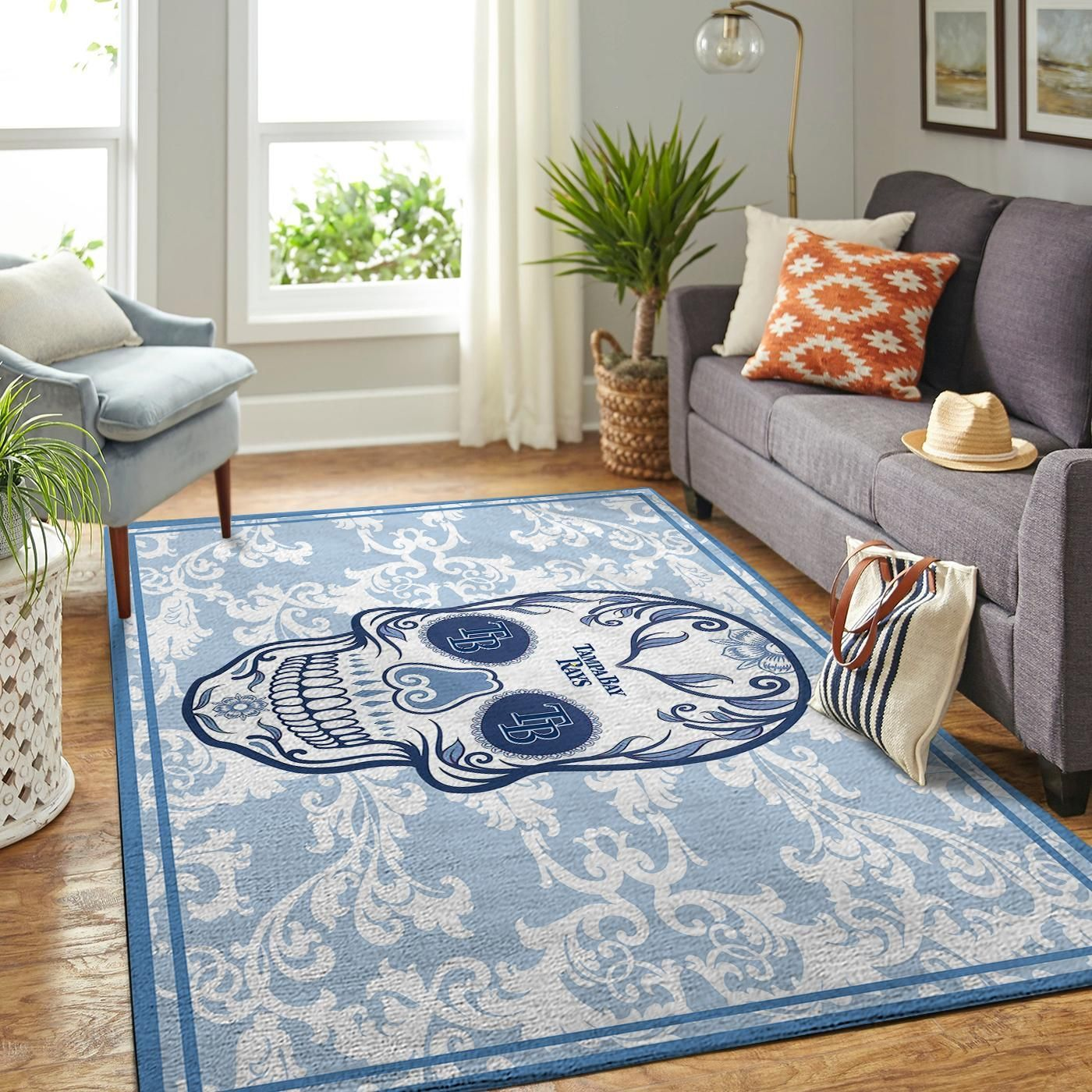 Amazon Tampa Bay Rays Living Room Area No5094 Rug