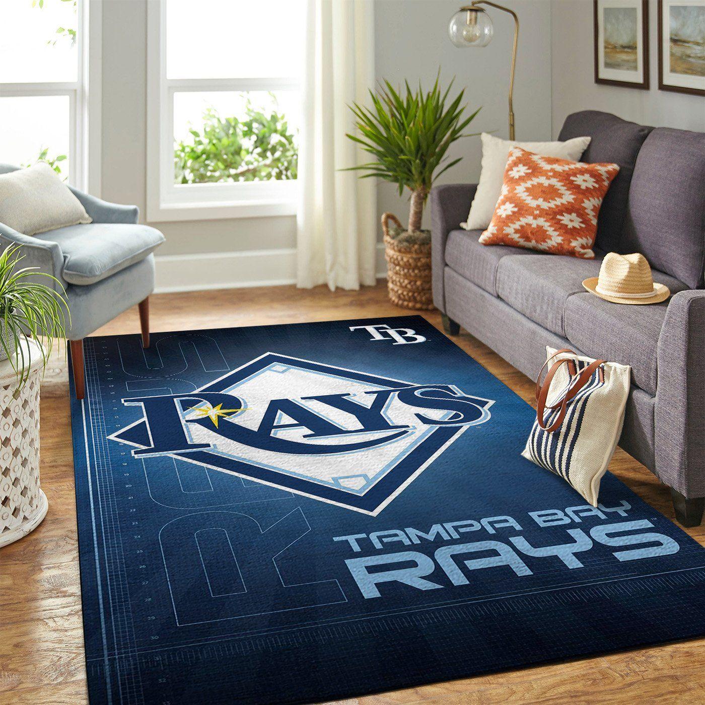 Amazon Tampa Bay Rays Living Room Area No5095 Rug
