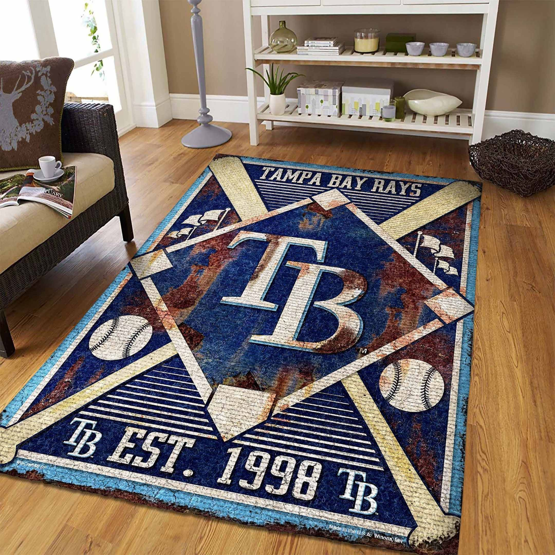 Amazon Tampa Bay Rays Living Room Area No5116 Rug