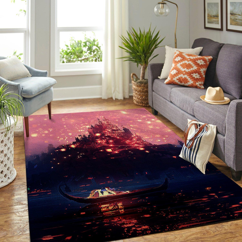 Amazon Tangled Disney Movie Living Room Area No5883 Rug