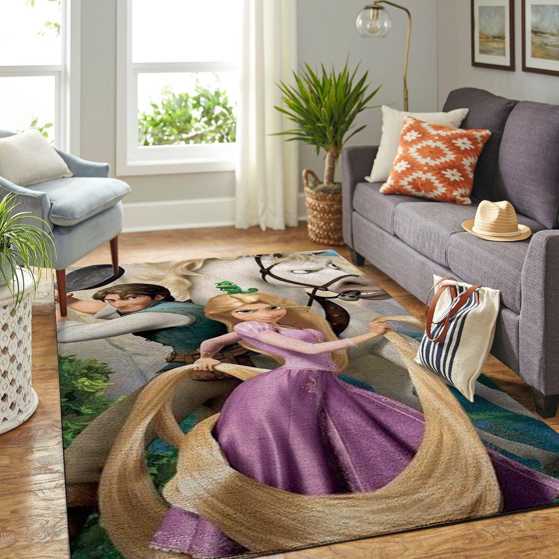 Amazon Tangled Disney Movie Living Room Area No6679 Rug
