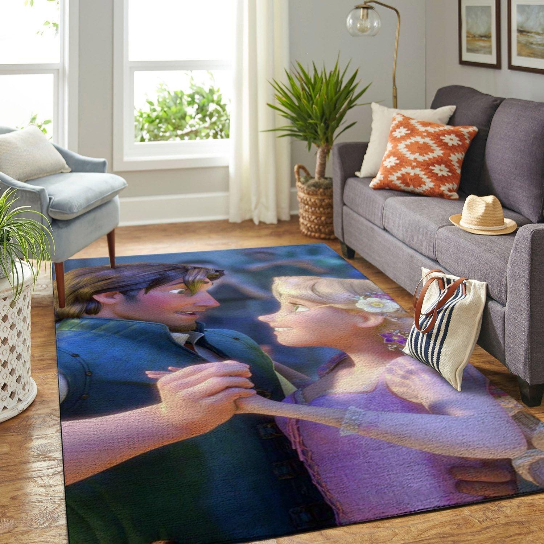 Amazon Tangled Disney Movie Living Room Area No6685 Rug