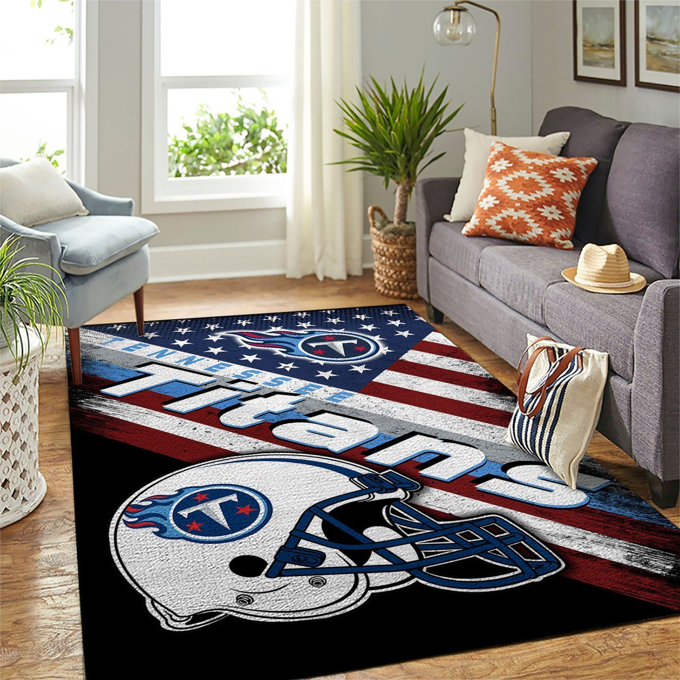 Amazon Tennessee Titans Living Room Area No5120 Rug