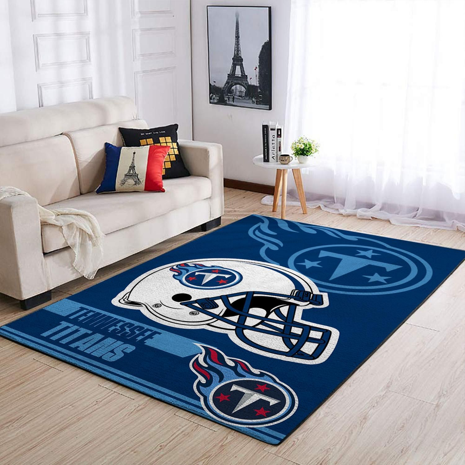 Amazon Tennessee Titans Living Room Area No5124 Rug