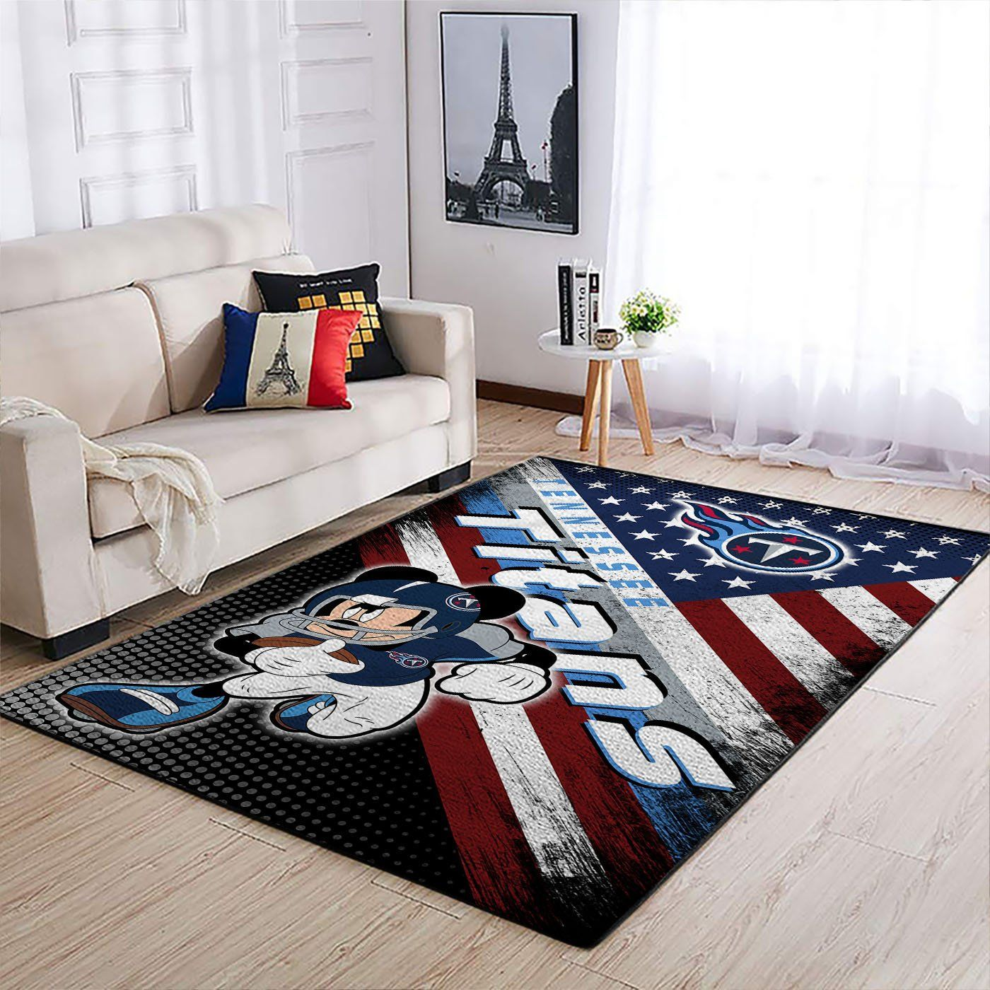 Amazon Tennessee Titans Living Room Area No5128 Rug