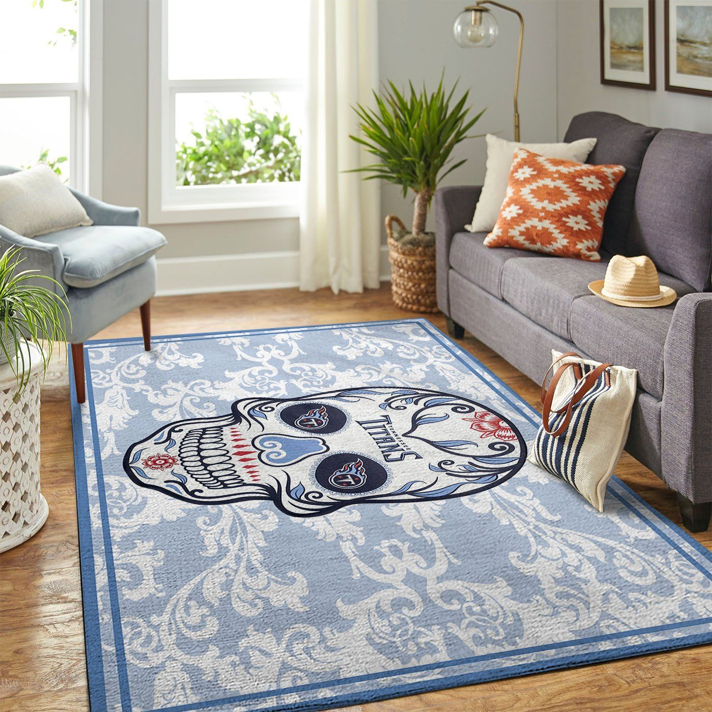 Amazon Tennessee Titans Living Room Area No5130 Rug