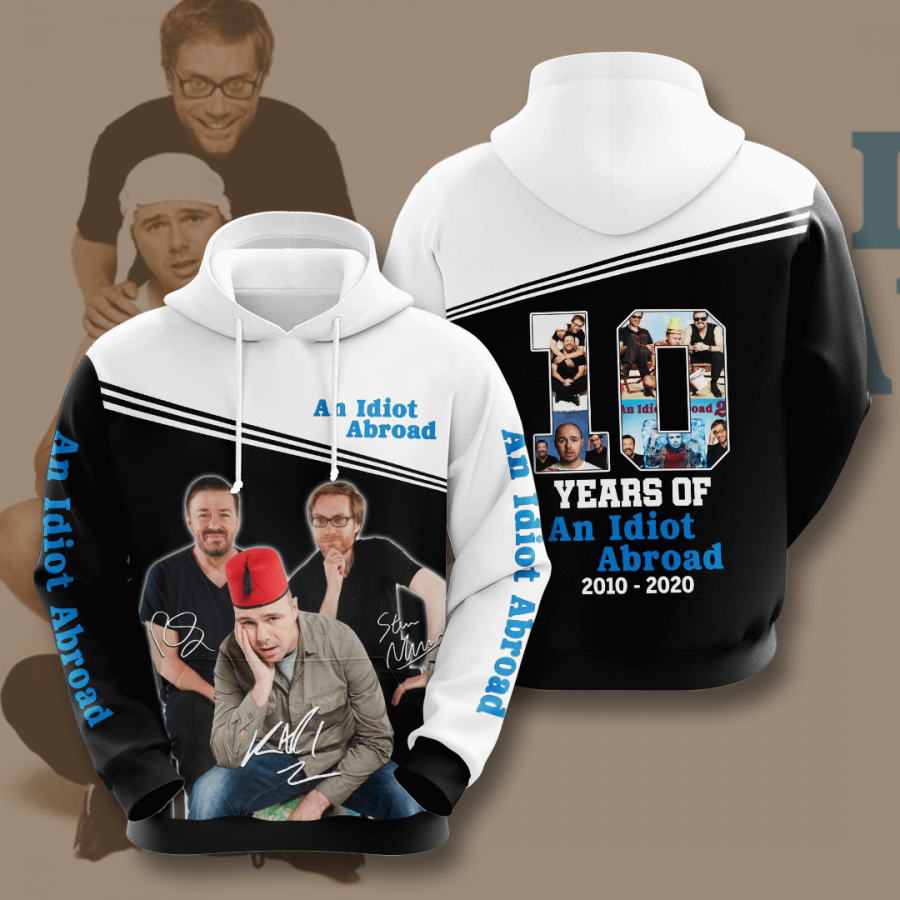An Idiot Abroad No43 Custom Hoodie 3D