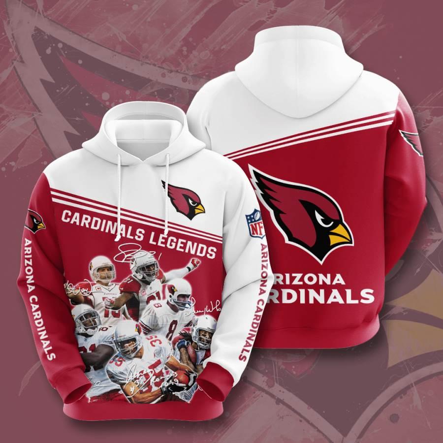 Arizona Cardinals No50 Custom Hoodie 3D