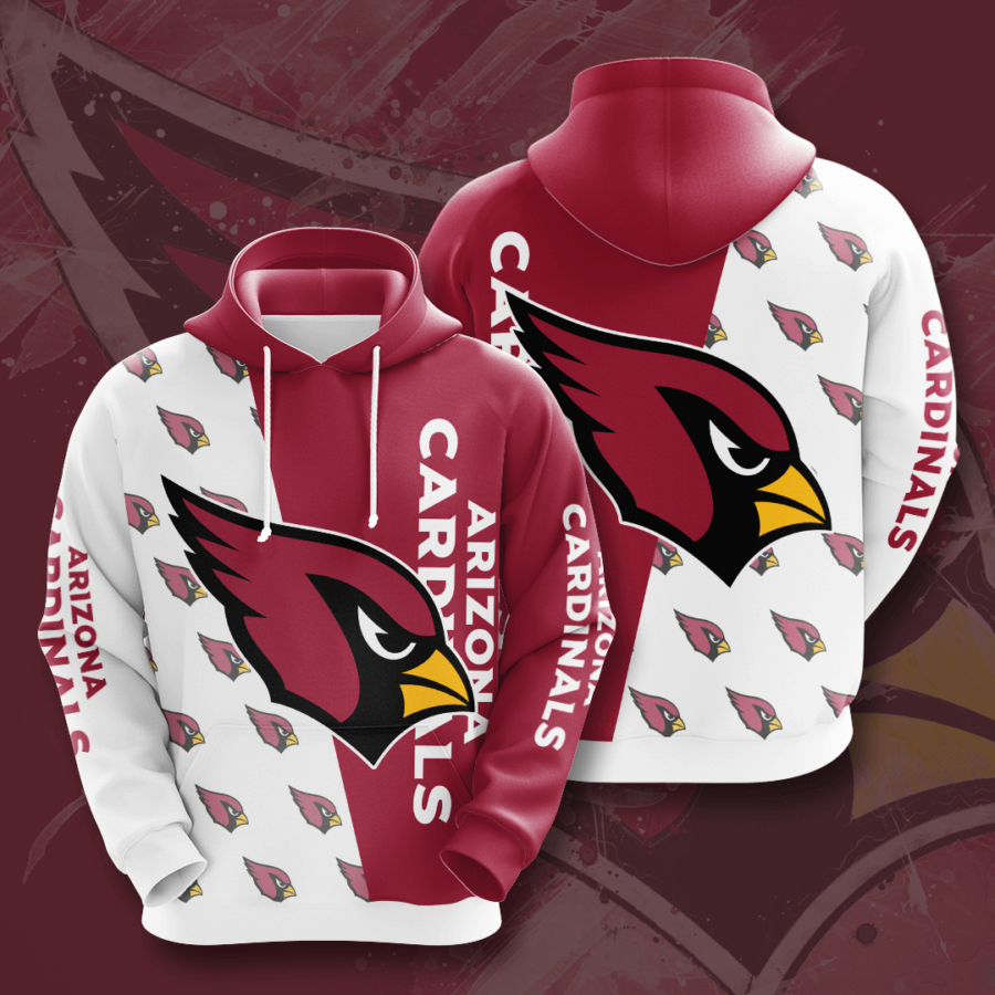 Arizona Cardinals No67 Custom Hoodie 3D