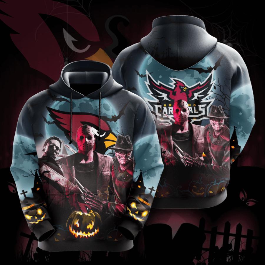Arizona Cardinals No69 Custom Hoodie 3D
