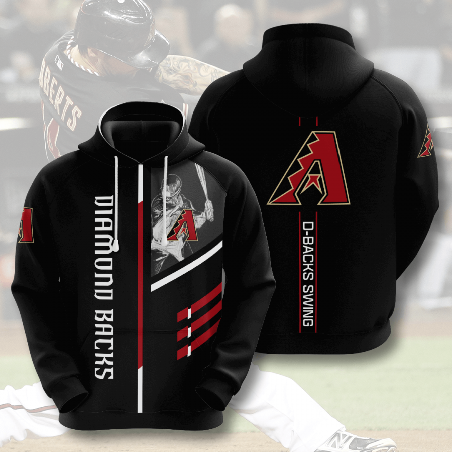 Arizona Diamondbacks No80 Custom Hoodie 3D