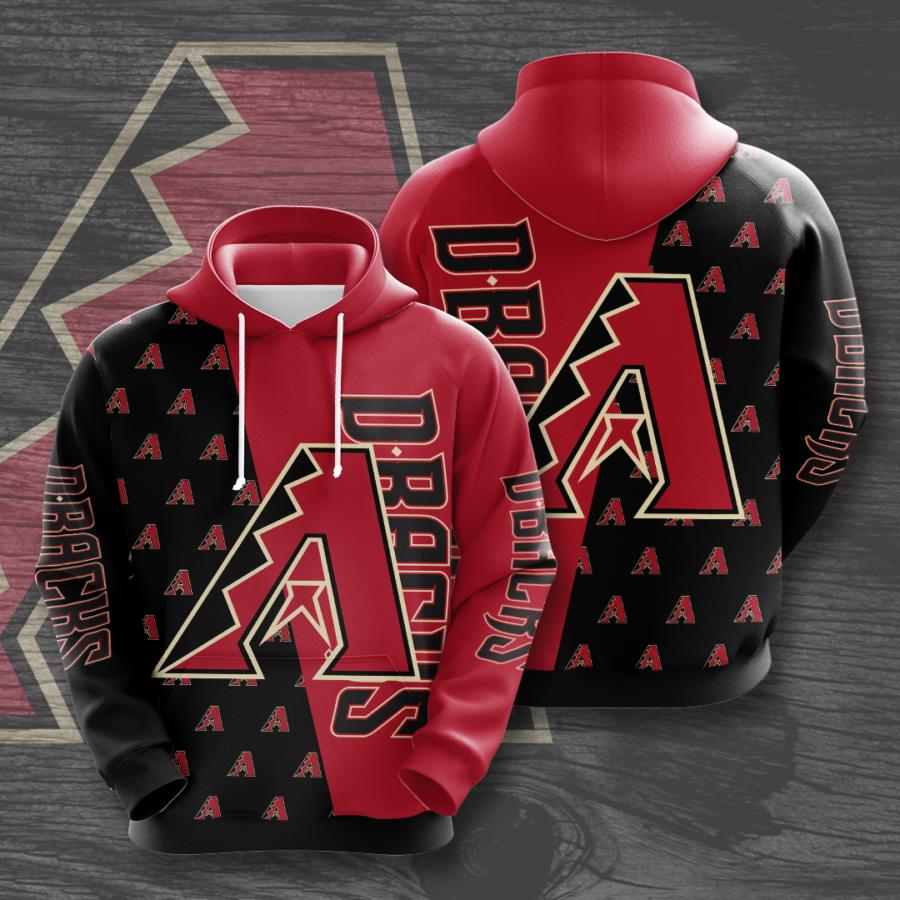 Arizona Diamondbacks No83 Custom Hoodie 3D