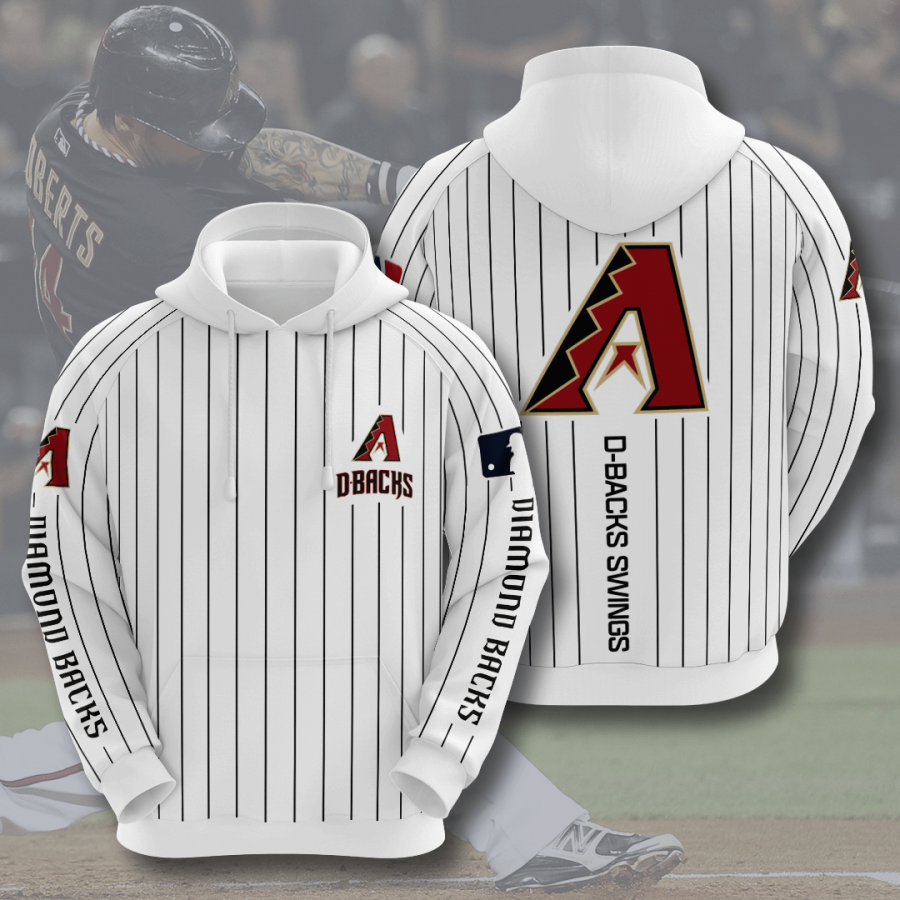 Arizona Diamondbacks No88 Custom Hoodie 3D
