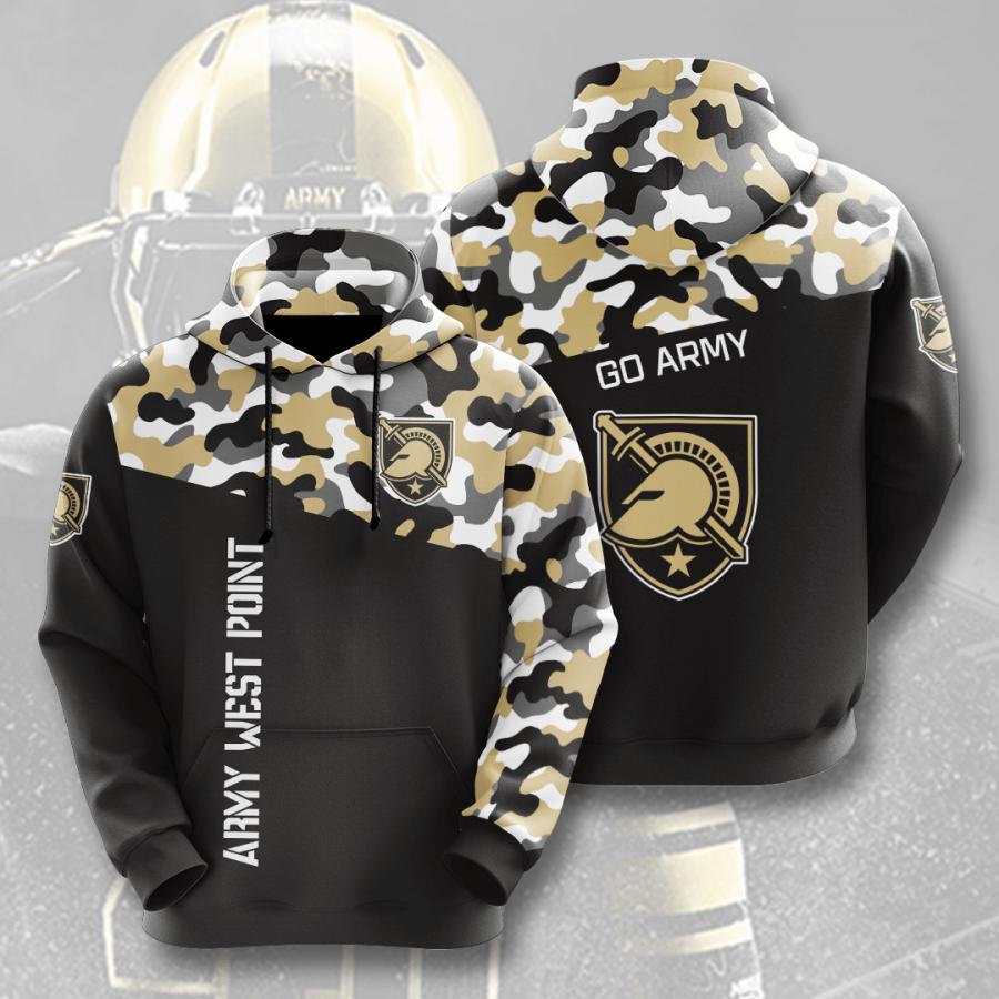 Army Black Knights No92 Custom Hoodie 3D