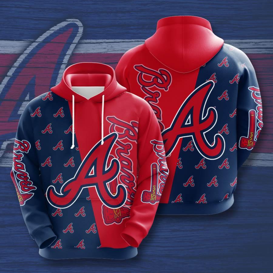 Atlanta Braves No103 Custom Hoodie 3D