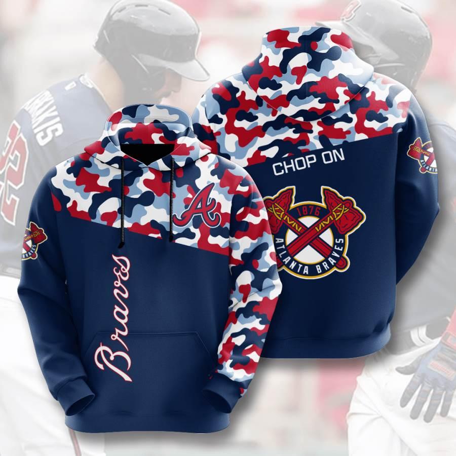 Atlanta Braves No104 Custom Hoodie 3D
