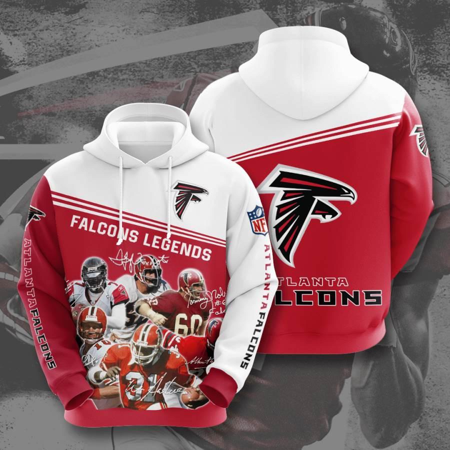 Atlanta Falcons No113 Custom Hoodie 3D