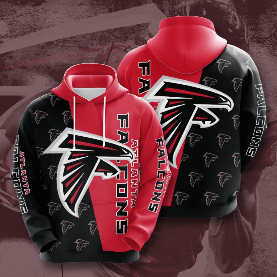 Atlanta Falcons No120 Custom Hoodie 3D