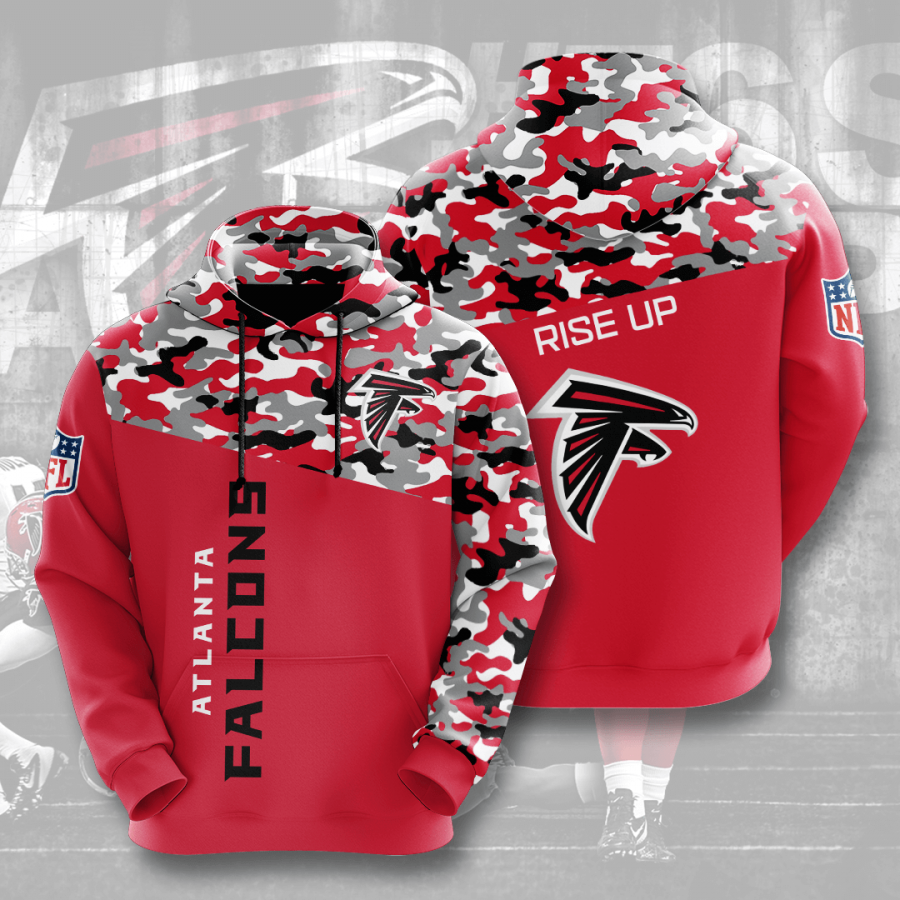Atlanta Falcons No123 Custom Hoodie 3D