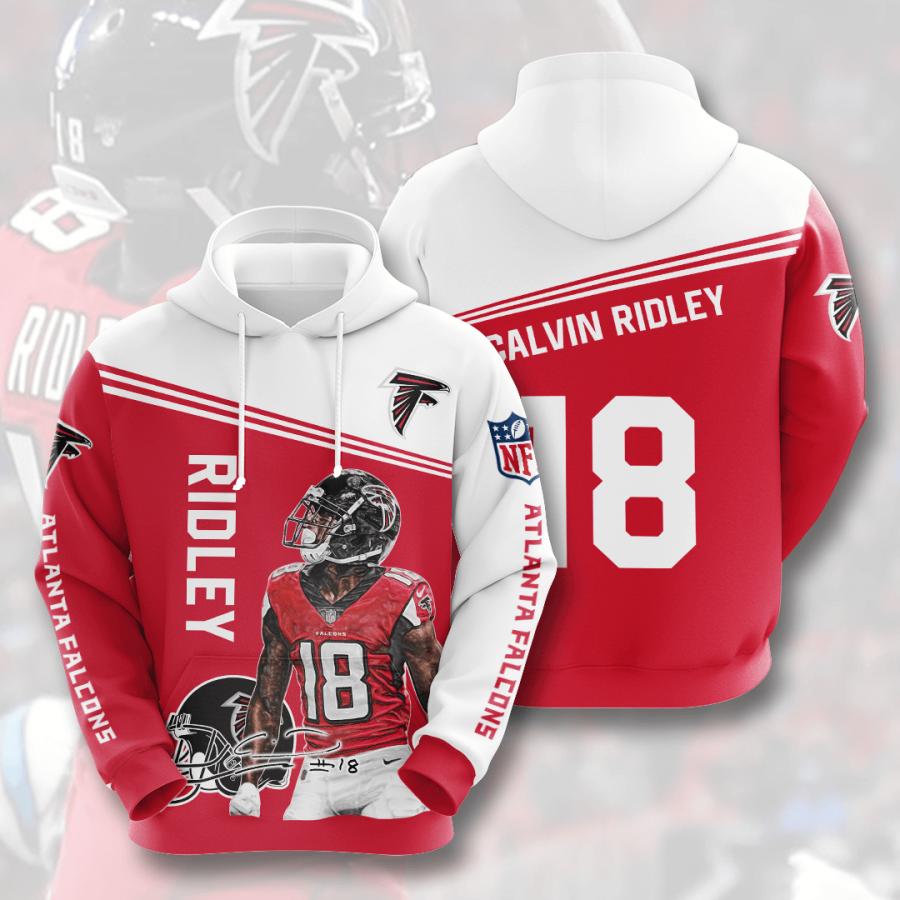 Atlanta Falcons No126 Custom Hoodie 3D